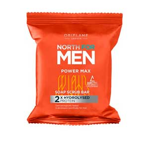 Мыло-скраб North for Men Power Max от Орифлейм